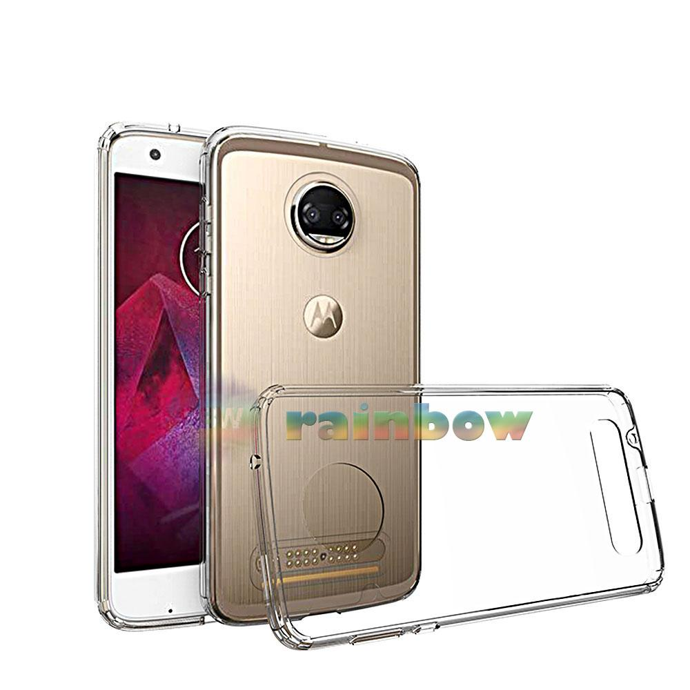 Rainbow Ultrathin Soft Case Motorola Moto Z2 Play Clear / Silicon Case Motorola Z2 Play /