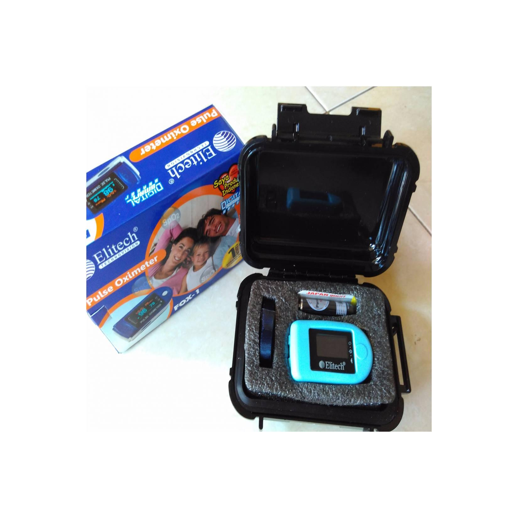 JUAL Digital Pulse Oximeter ELITECH