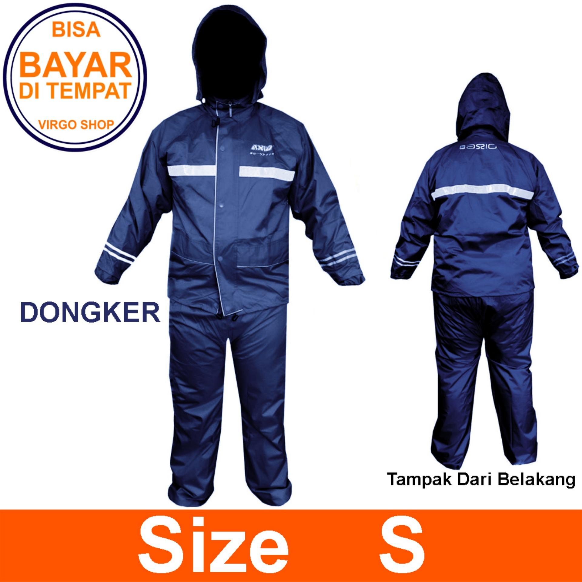 Axio Jas Hujan Axio Europe Original - Axio Europe Original Raincoat AX-882 - Navy