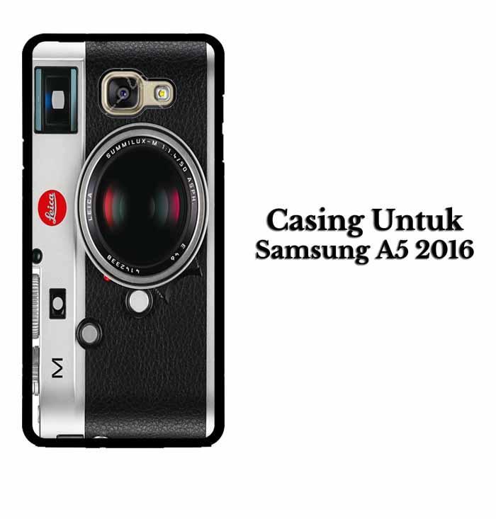Casing SAMSUNG A5 2016 camera leica m 240 Hardcase Custom Case Se7enstores