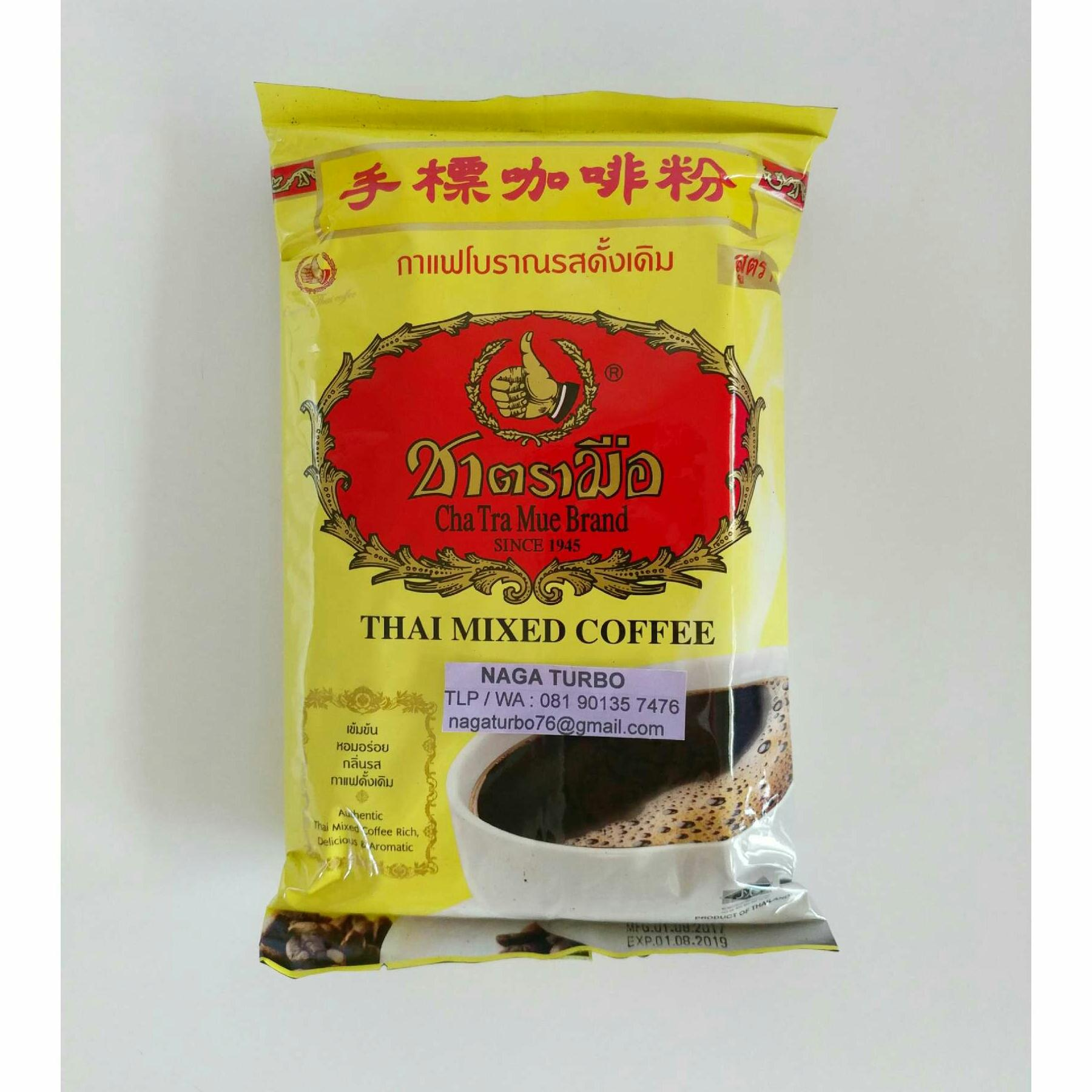 Kelebihan Chatramue Thai Mixed Coffee Terkini Daftar Harga Dan Paket Green Tea Brand Kopi Thailand Number One Original