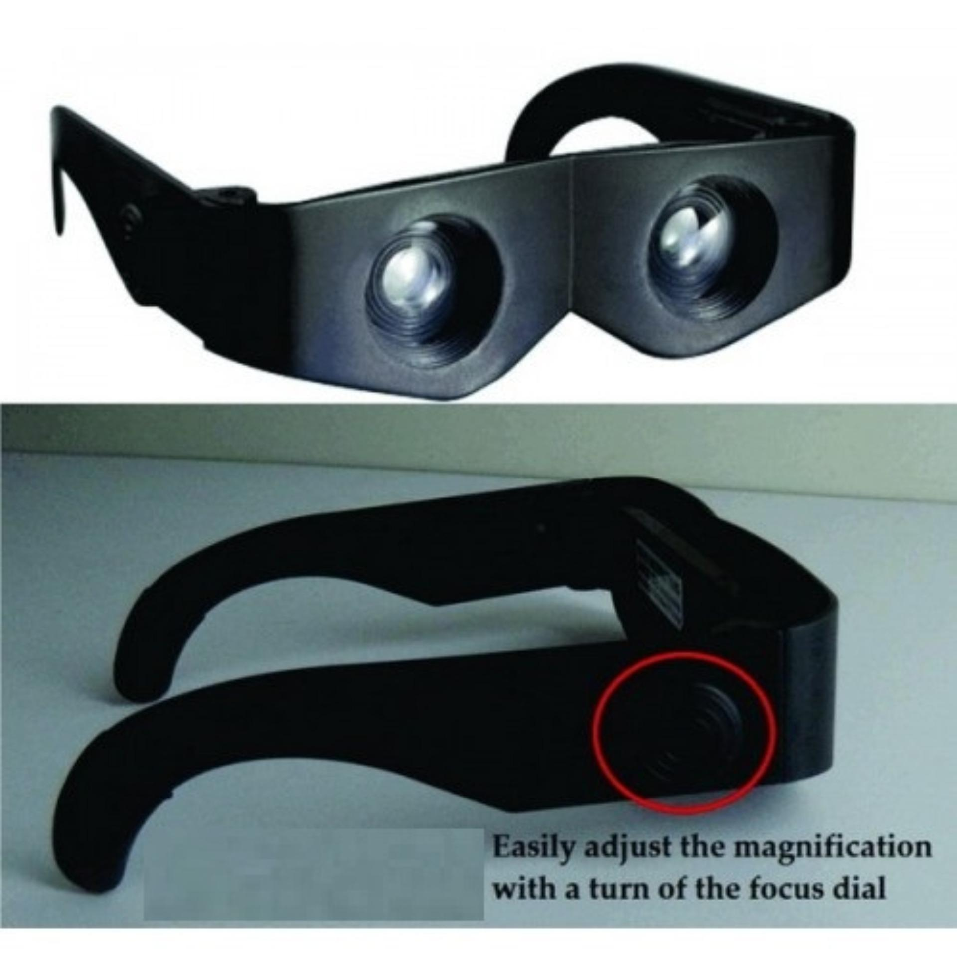 Kacamata Teropong Untuk Melihat Jarak Jauh / Kacamata Zoom Untuk Nonton Bola Di Stadion Maupun Konser