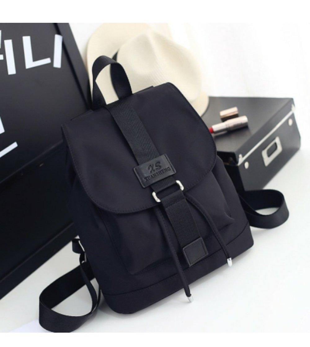 Dream Tas Fashion Korea High Quality Korean Style PU Leather with texture - Hitam