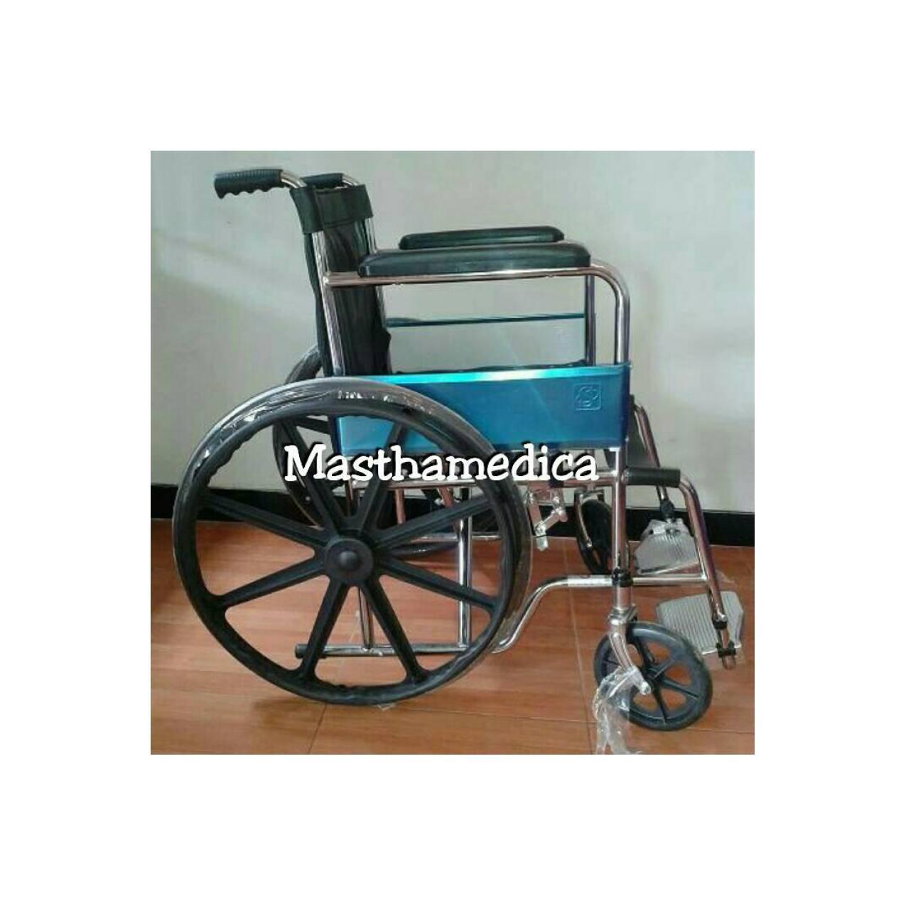 Kursi Roda Standar Ban Roda Velg Racing Standart Rumah Sakit Murah