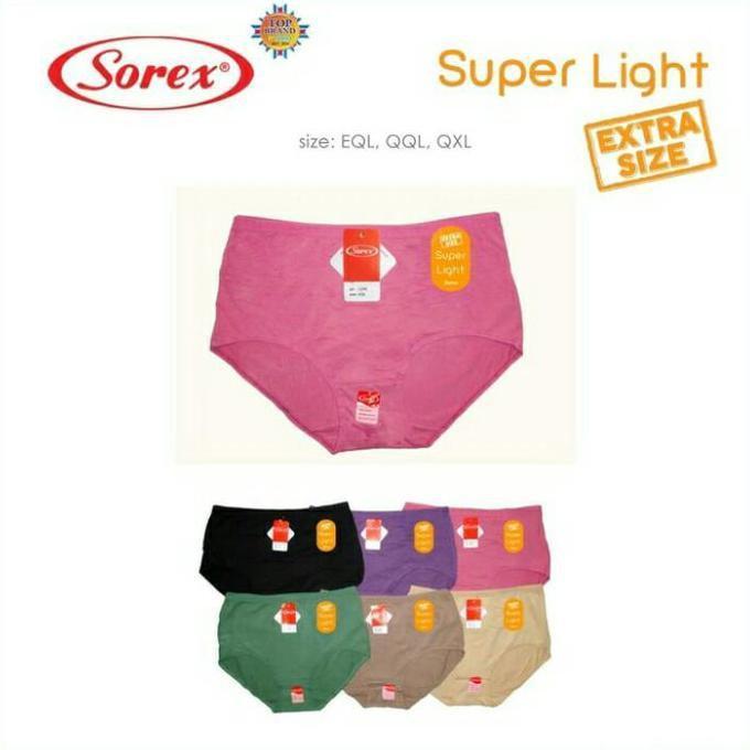 Celana Dalam Wanita Jumbo / Big Size Sorex 1249 (12Pc) - Bnfsdklgfs