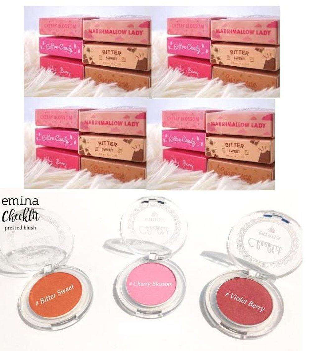 Kelebihan Blushon Emina Cosmetics Cheeklit Pressed Best Seller Blush On Kosmetik Original