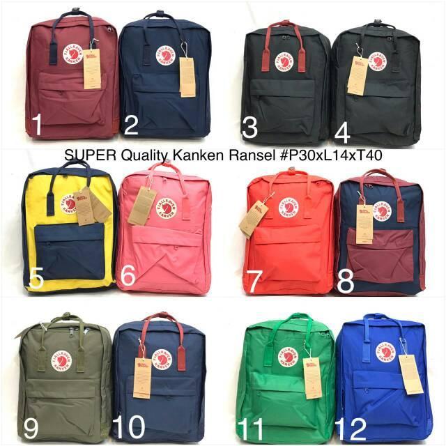 Tas Ransel Kanken Besar  bisa buat tas sekolah, tas kuliah dan jalan2