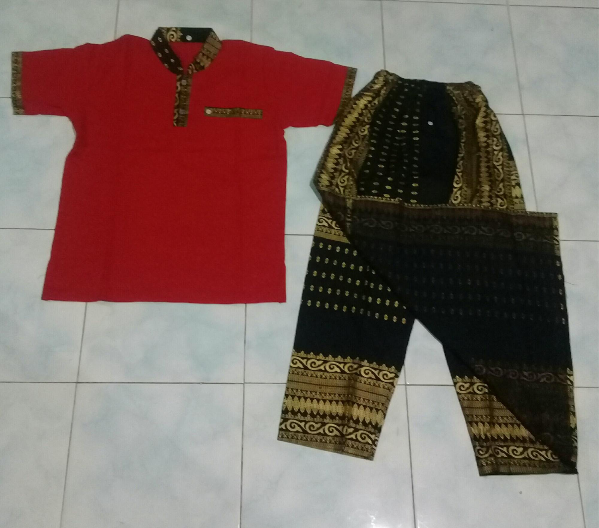 Sarcelko Sarung celana koko anak size XL (7-8th)