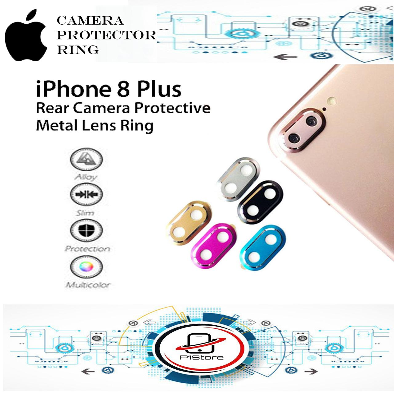 Rainbow Lens Protector / Ring Camera / Pelindung Kamera For Apple iPhone 7 Plus / iPhone 8 Plus
