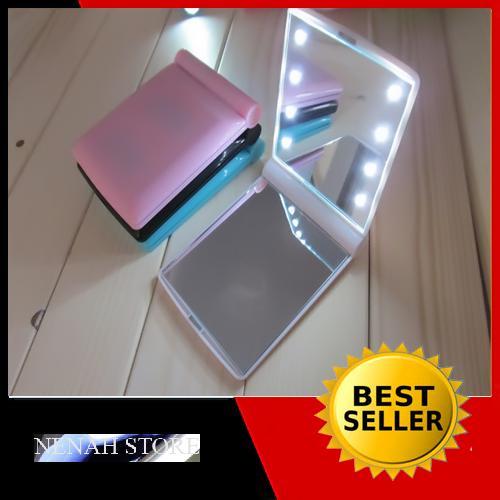 Cermin LED Rias Wajah Jadi Jelas (Terdapat 8 butir lampu LED)