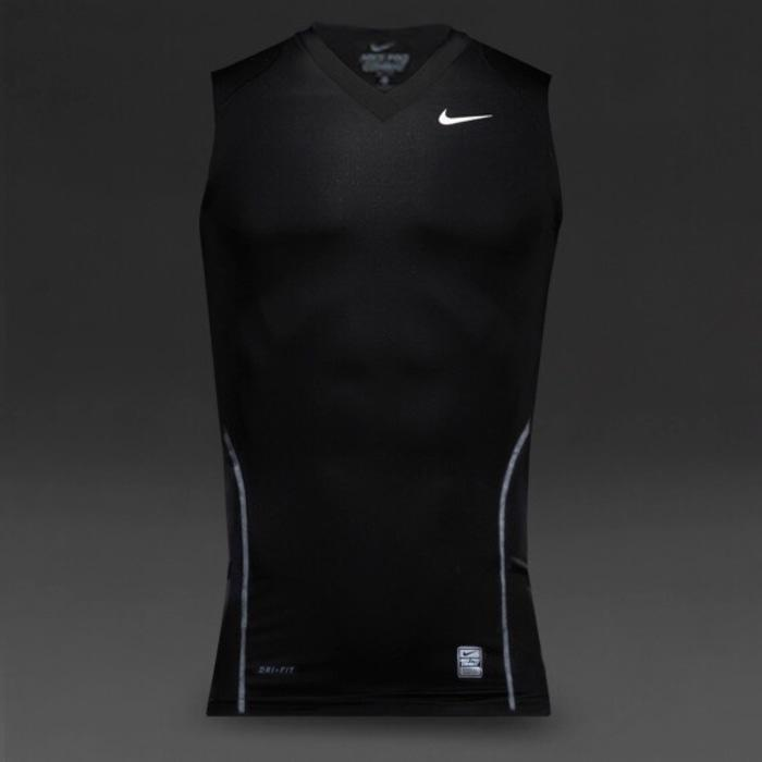 Baselayer Nike Procombat Baselayer Buntung V neck - N5EdEl