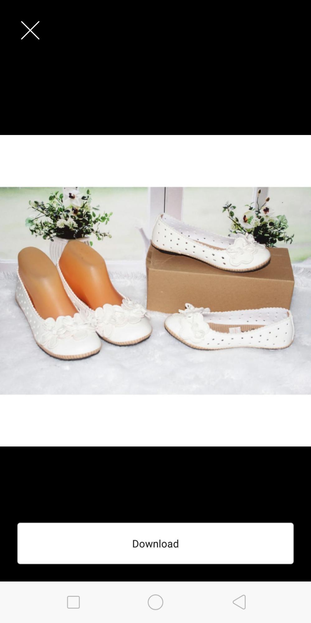 Harga satuan sepatu couple ibu anak
