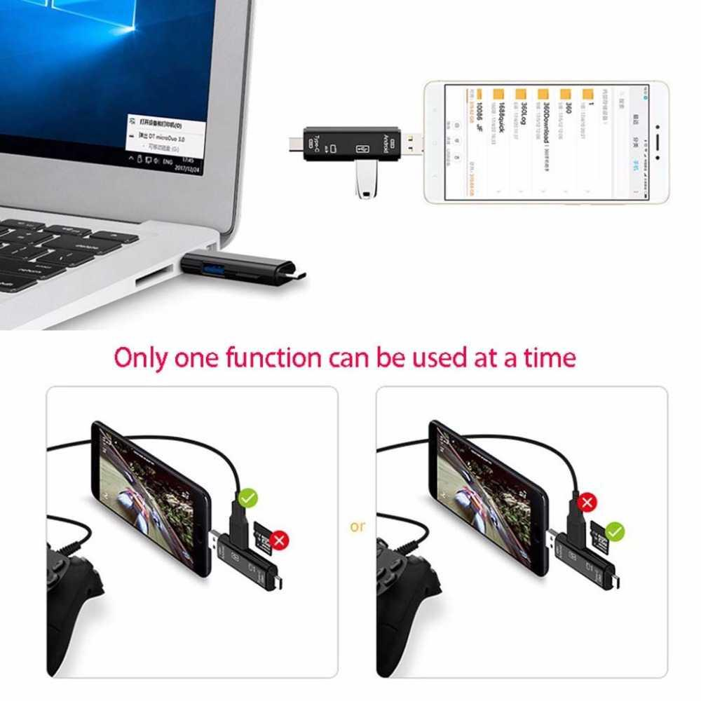 Fitur Portable Otg Card Reader Usb Type C Micro Dan Harga Votre 4 Slot Detail Gambar Terbaru