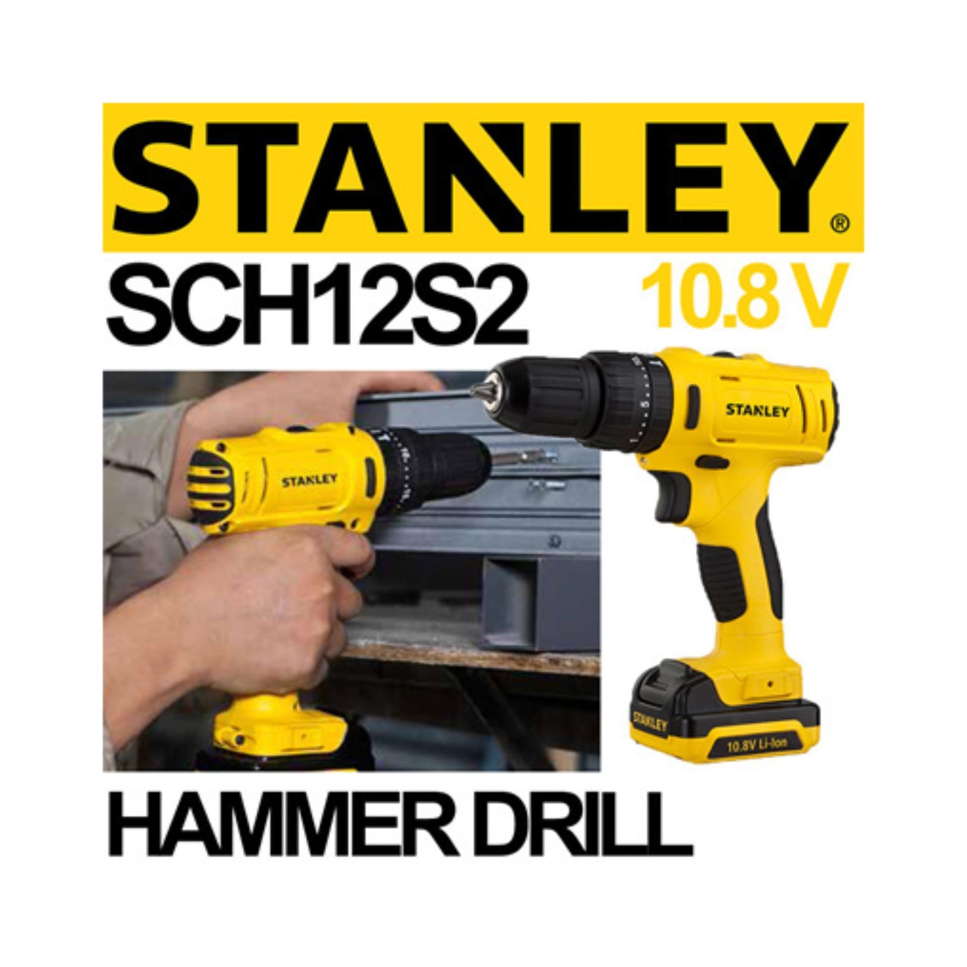 Run 13mm Power Impact Drill Mesin Bor Beton Cek Harga Terkini Dan Baterai 10mm Aeg Bsb12c2li 2 Detail Gambar Tembok Cordless Hammer Stanley Sch12s2 Sch 12