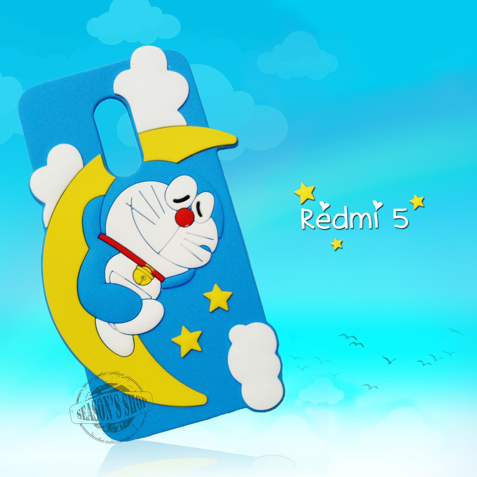Kelebihan Joyce Softcase Cute 4d Doraemon Moon For Xiaomi Note 5a Case Polkadot Redmi 5x 5plus Seasons 5