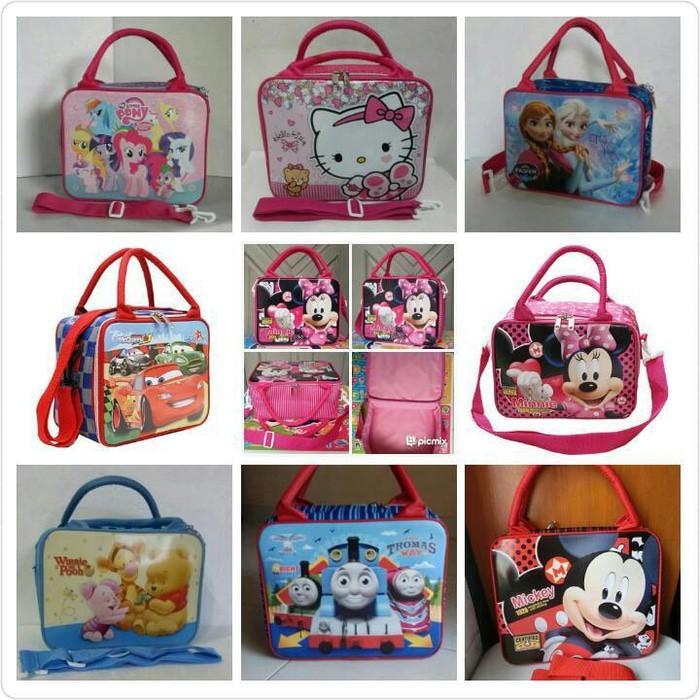 PROMO! Travel Bag / Tas Koper / Tas Renang Anak Karakter Ukuran Kecil