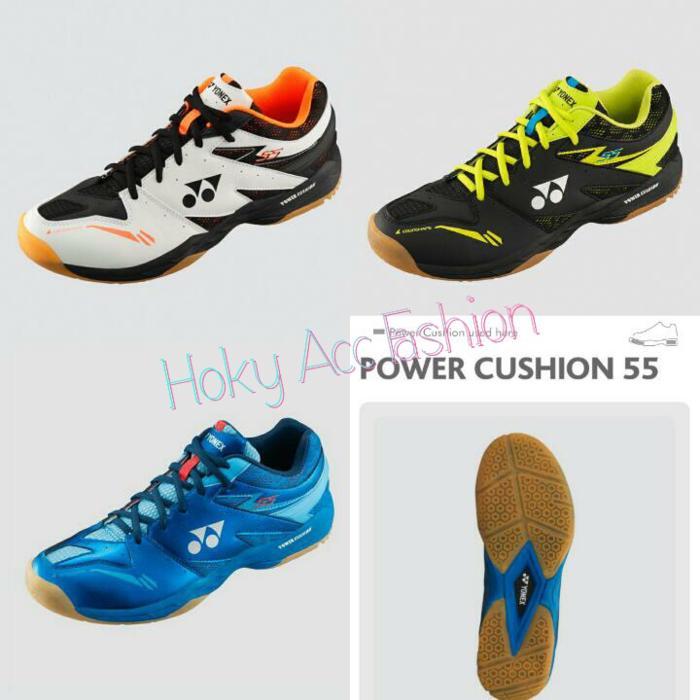 Sepatu Badminton Yonex SHB 55 EX - Original - CT9qtT