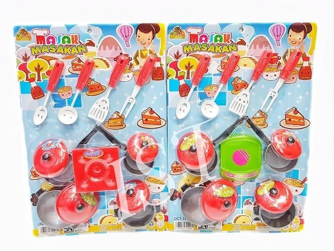 Mainan Masak Masakan Kompor Warna Merah