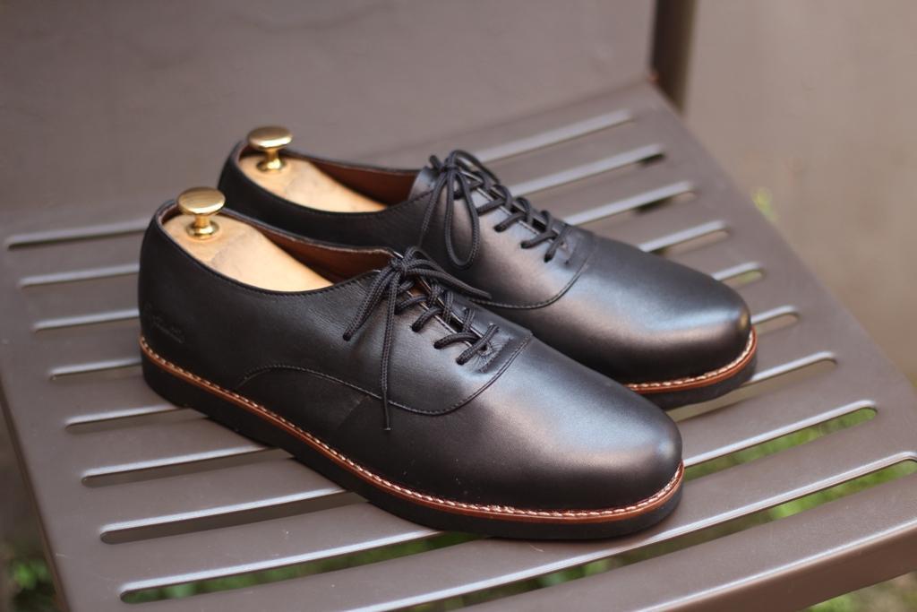 B A E WEAH Sepatu Brodo Pull Up - Sepatu Kulit Asli Original POPTASTIC Sepatu Kulit Asli Pria