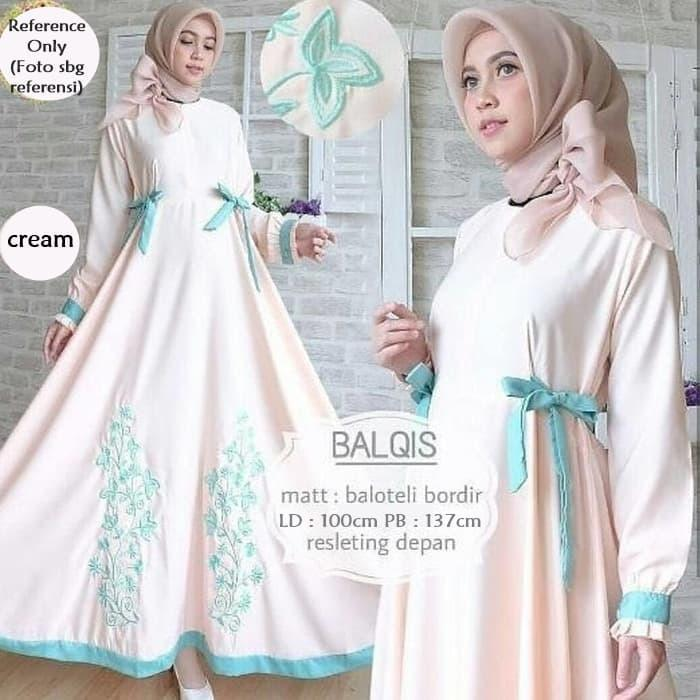 Balqis Dress Cream