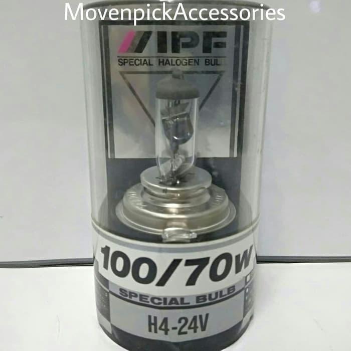 Bohlam IPF H4 24V 100/70W P43t Original Japan