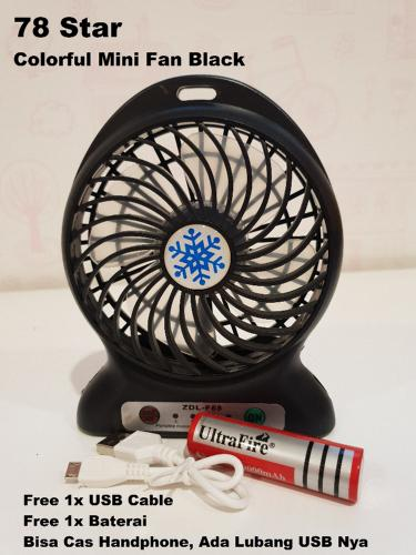 Portable Mini Fan Rechargeable Kipas Angin Mini Pendingin Recharge Cas Kecil