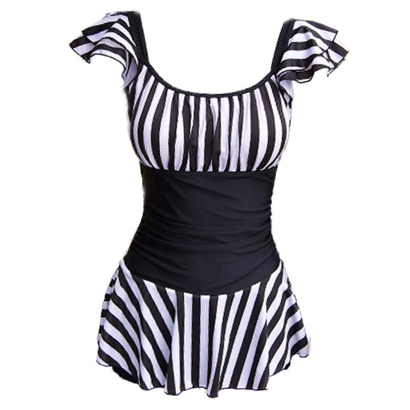 6f27761bfd95f Bathing Suit women Conservative Belly Covering Large Size dress for women-Slimming  Tour Bathing Suit
