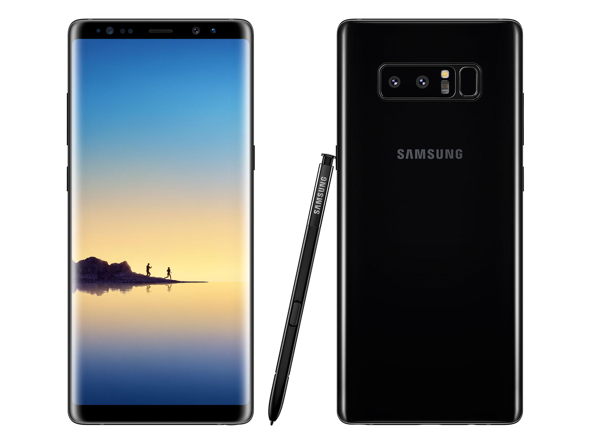 Samsung Galaxy Note 8 - 64GB/6GB - Midnight Black