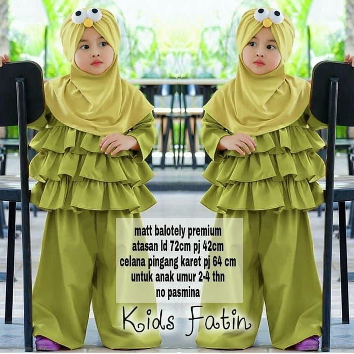 BS SET FATIN AVOCADO KID..
