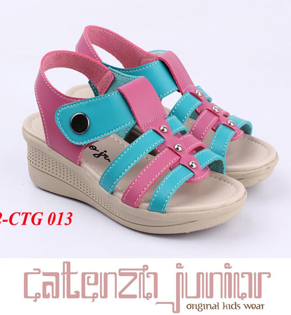 Sepatu Sandal Wedges Pesta Anak Balita Catenzo CTG013