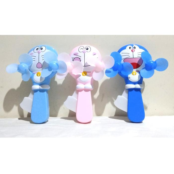 Kipas Angin Manual Pencet Doraemon Besar / Kipas Angin Murah / Mainan