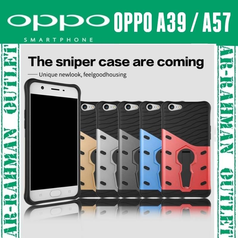OPPO A39 / A57 Case casing sniper armor hybrid TPU anti crack cover