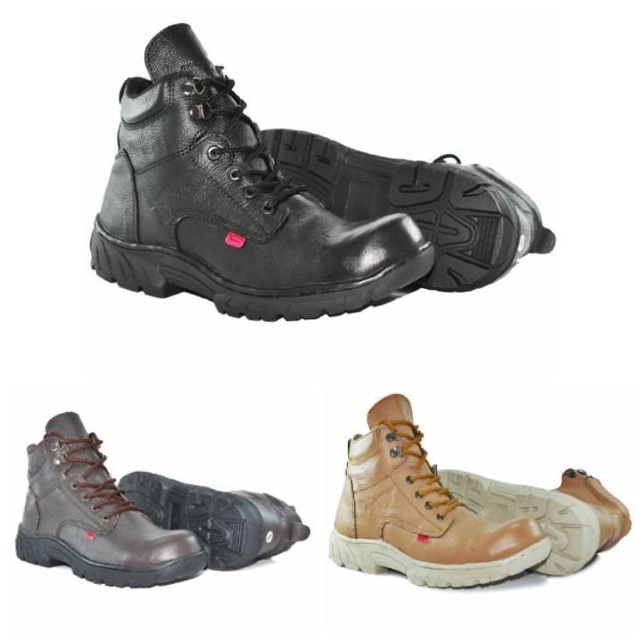 SEPATU BOOTS / TRACKING / OUTDOOR /  SAFETY TERMURAH DAN TERBARU UNTUK PRIA MERK KICKERS