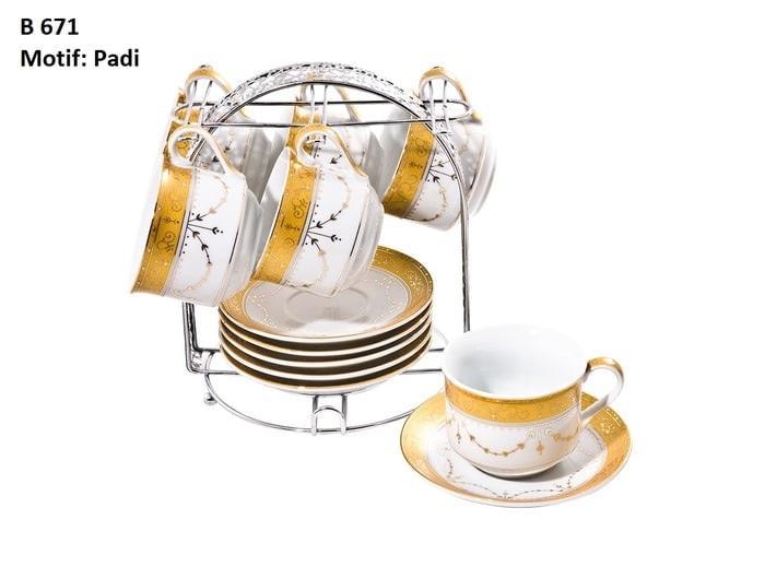 Cangkir set Vizenza / Tea set / Cup and saucer Vicenza B671