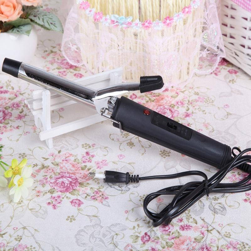 Metal curlers, hot electric hair sticks (black) - intl