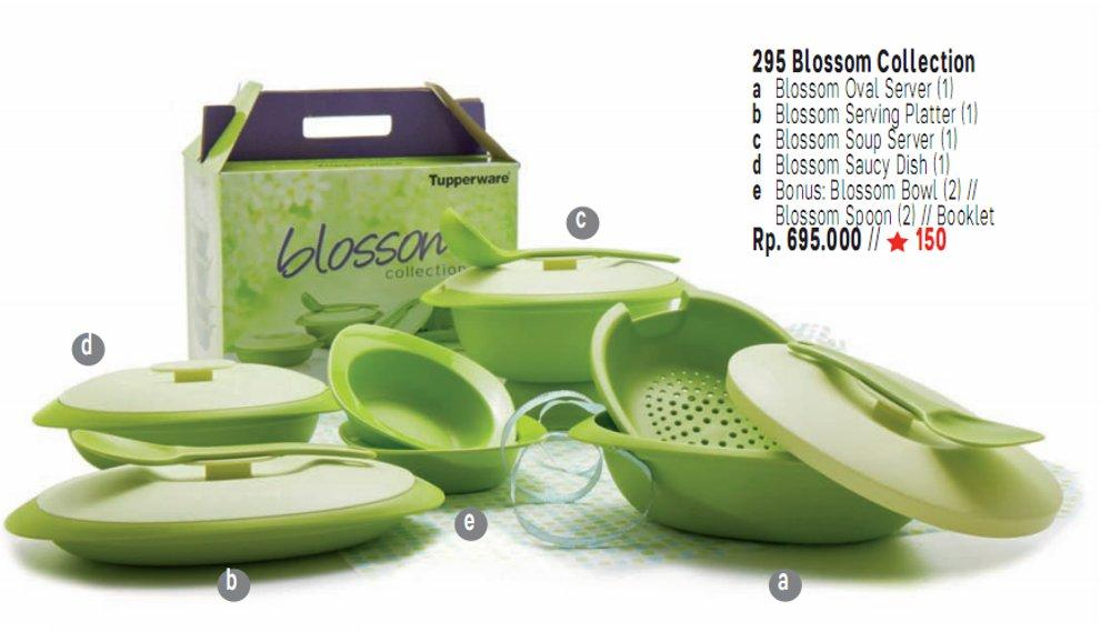 Tupperware Blossom Collection + Free 2 Bowl ...