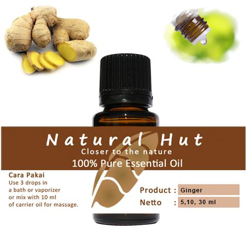 100% PURE ESSENTIAL OIL (GINGER) - 5ml