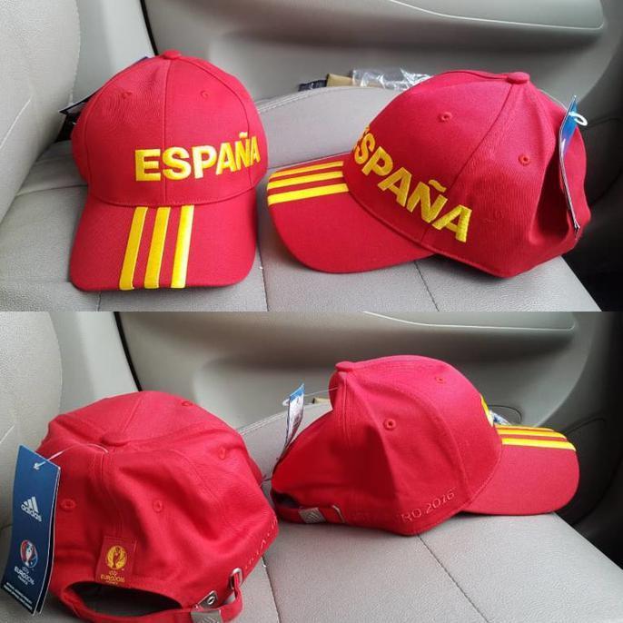Adidas Original Euro Spain 2016 Cap Originalbnwtall Size Men – Hlufjn.  Barang ini di jual oleh ... e9e10862bc