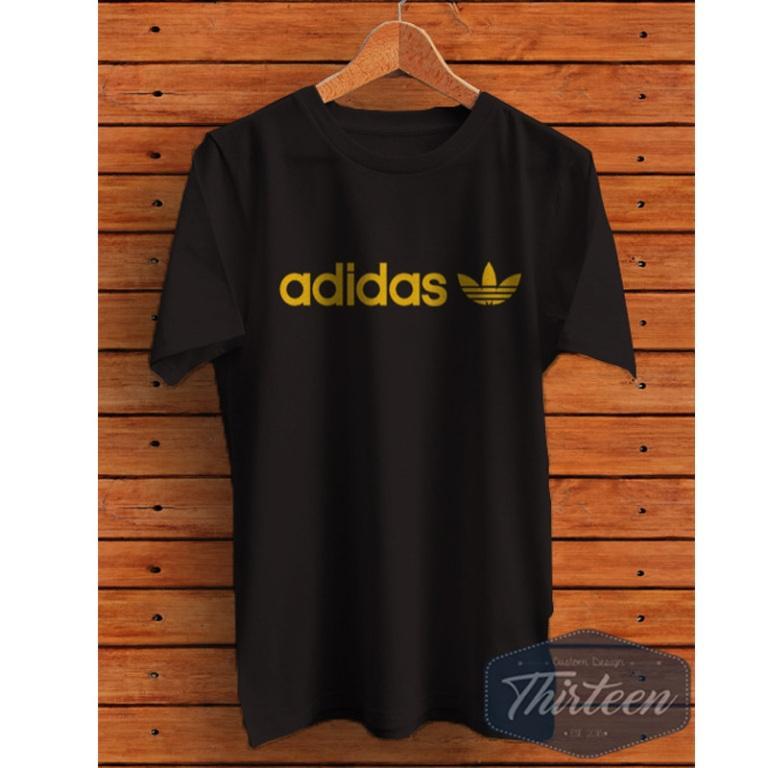 Kaos Original Baju Bola Adidas 2 - Hitam