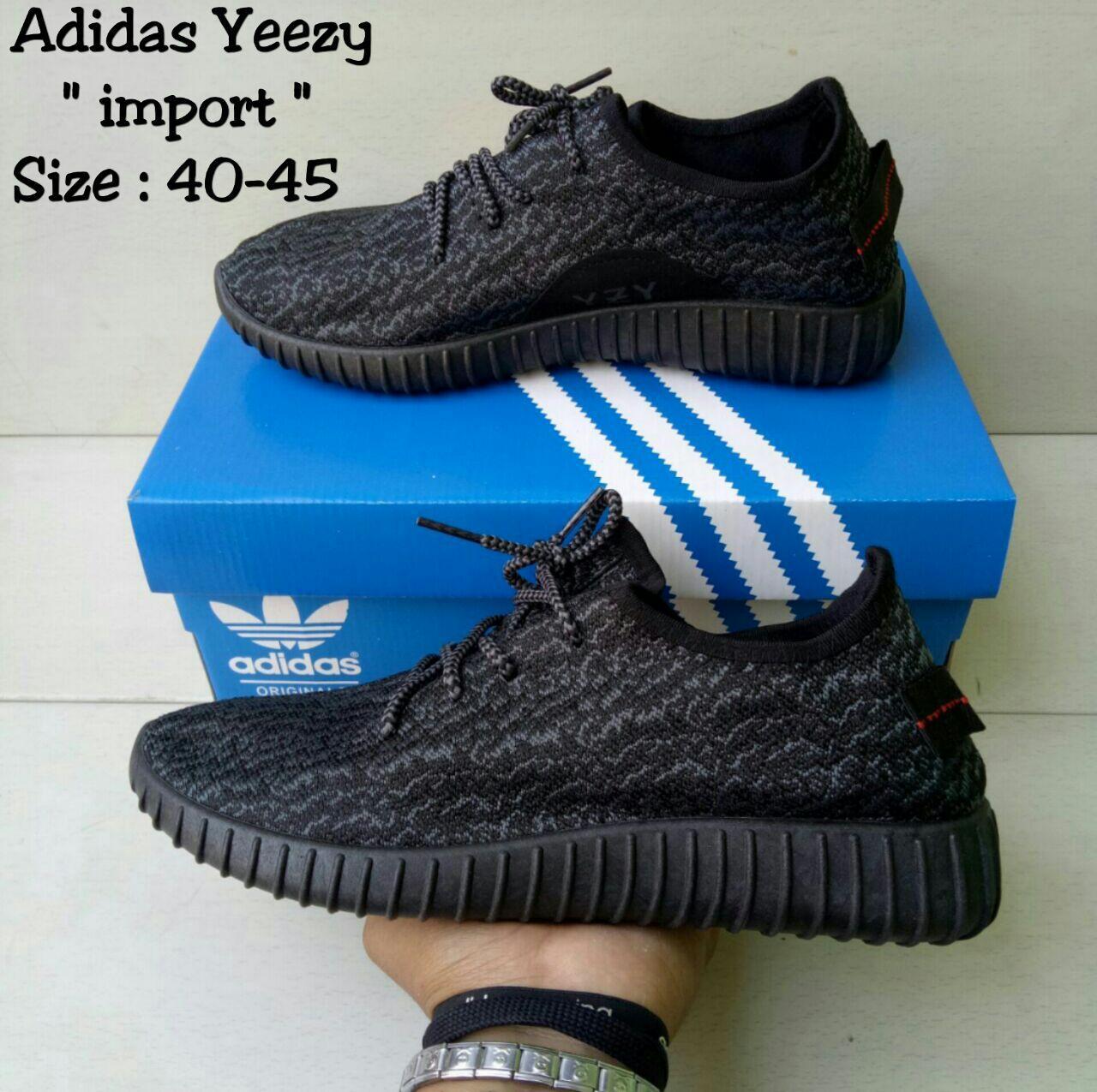 Adidas Yeezy Import Black