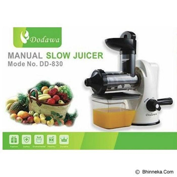 Manual Slow Juicer Merk Dodawa Dd-830 - Ypghs0