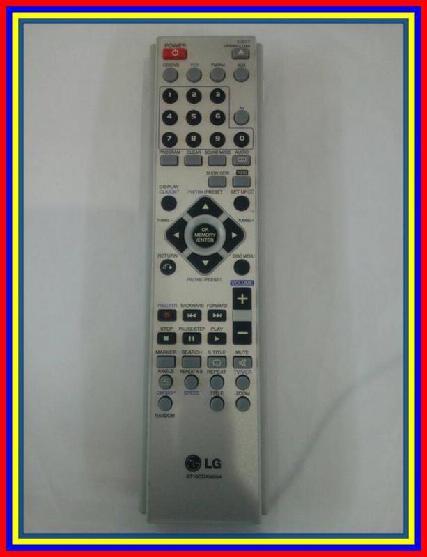 Remot Remote DVD Hometheater Home Theater LG 6710CDam03A Ori Original