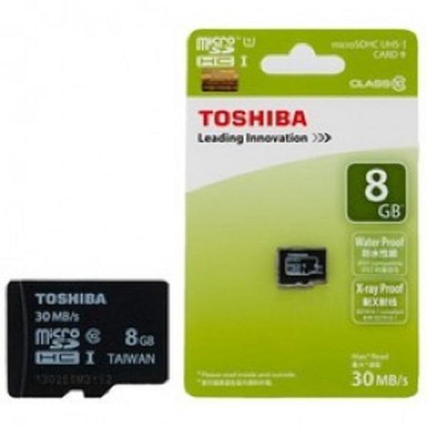MMC TOSHIBA 8GB SDHC / MICRO SD TOSHIBA 8 GB / MEMORI HANDPHONE