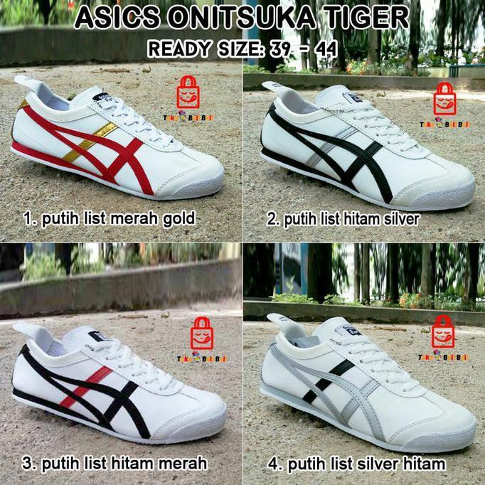 ASICS ONITSUKA TIGER MEN's / SEPATU PRIA / SEPATU SNEAKERS ASICS  DISTROQX01025