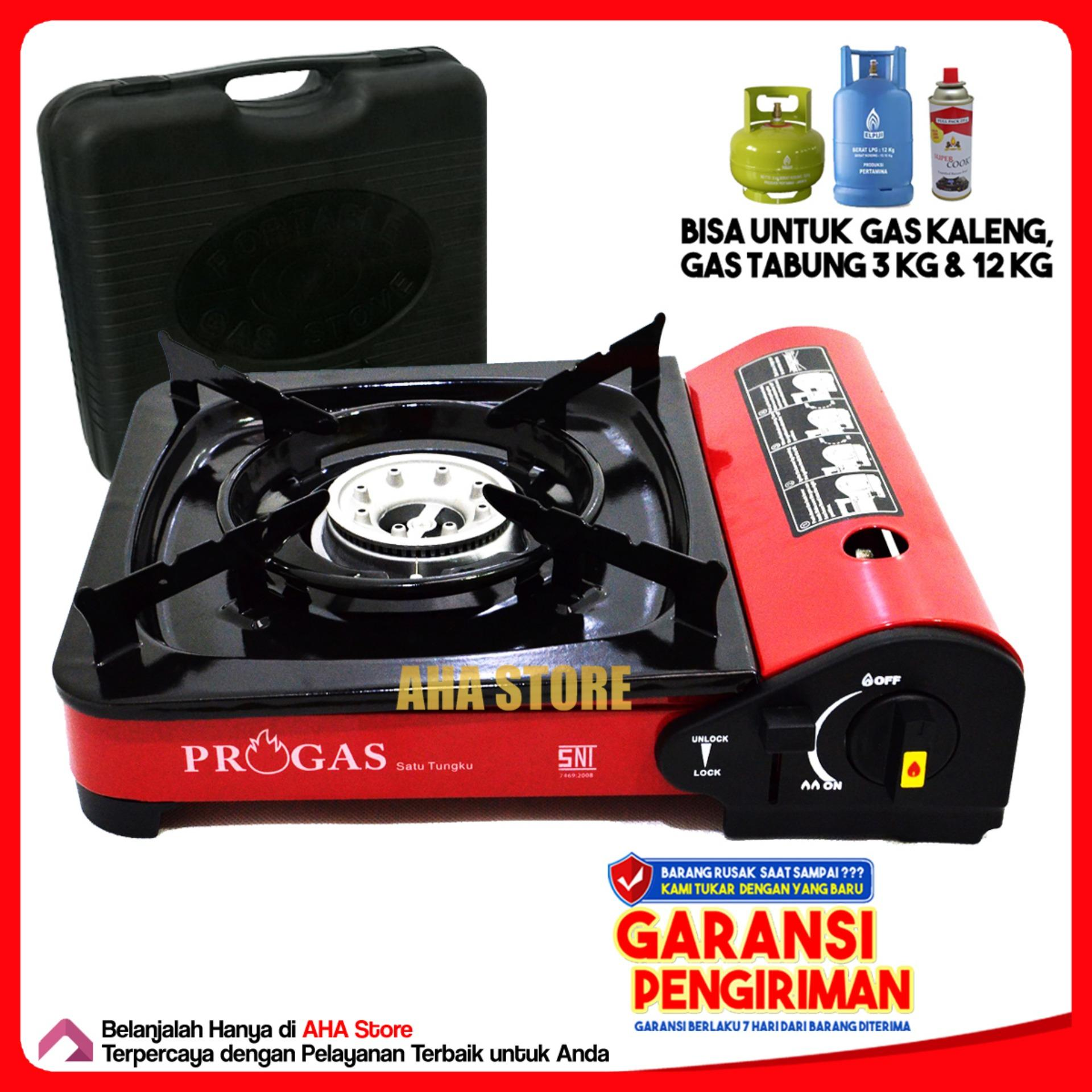 Progas Kompor Gas Portable 2 IN 1