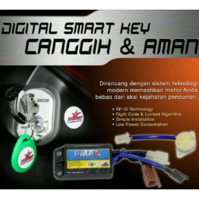 Alarm Motor Honda New Vario 125 Esp I-Max Digital Smart Key - Dgnsg Dksjfbas