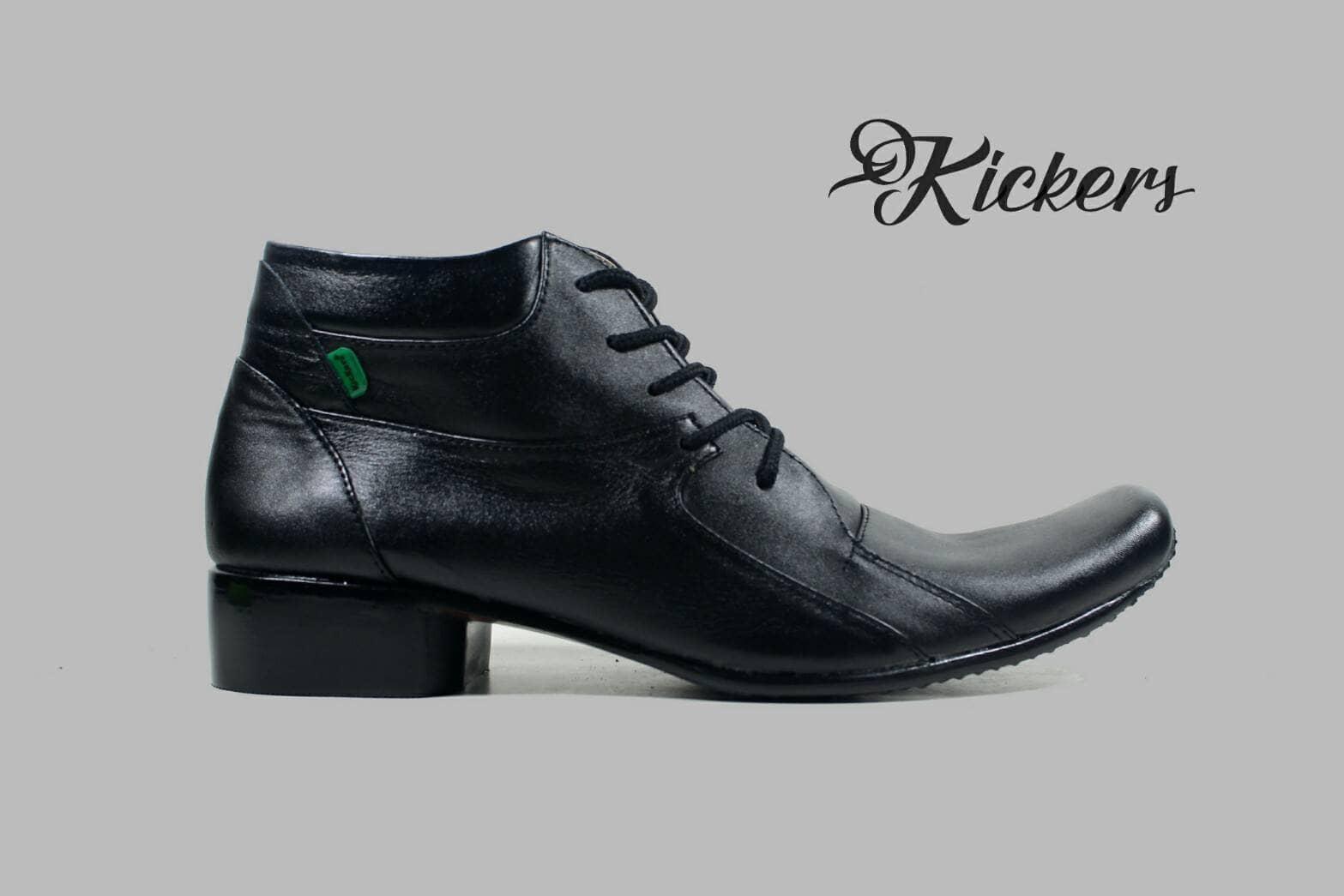 Promo sepatu formal pantofel pria kulit asli kickers boots formal Fashion murah
