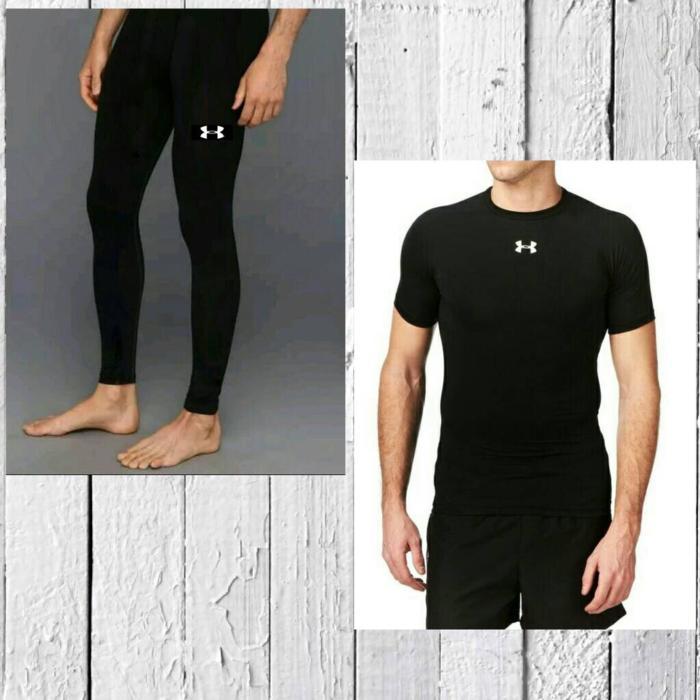 55a19d2aba87fe Gambar Produk Rinci Paket Celana Baselayer Manset Nike Adidas Renang Diving  Gym Legging - ooEosS Terkini