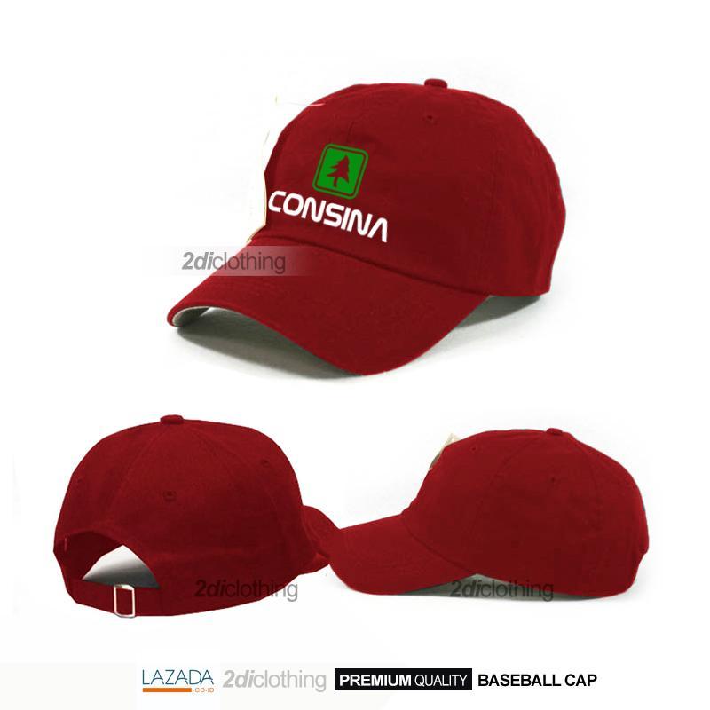 Topi Consina Unisex Premium Quality - Topi Baseball Consina Premium distro
