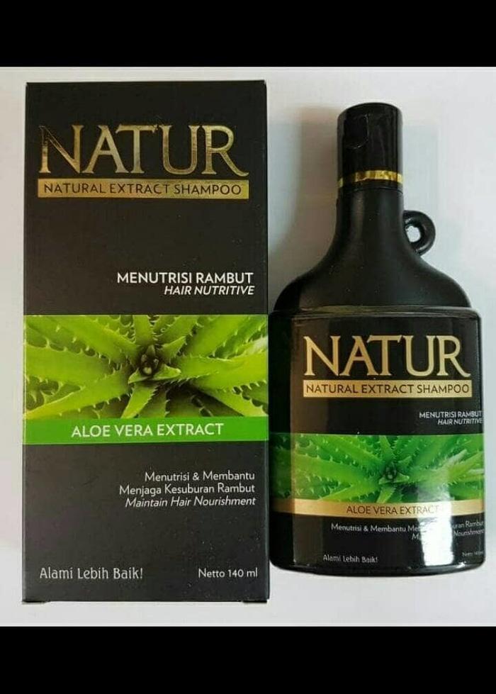 Natur Shampo Aloe Vera Extract & Natur Shampo Gingseng Extract
